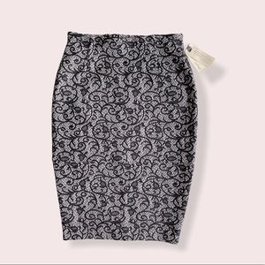 Aritzia Wilfred Campagne Lace Pencil Skirt